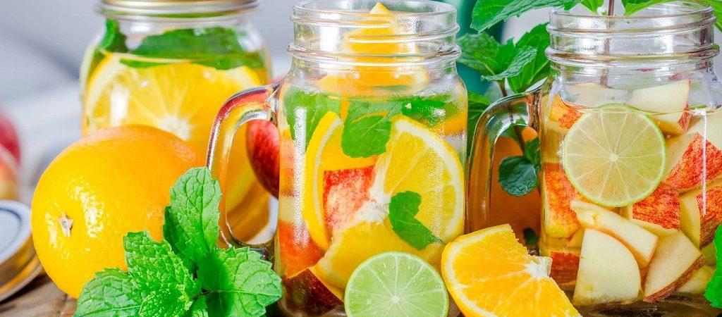 خاصیت آب طعم دار یا دتاکس واتر برای بدن