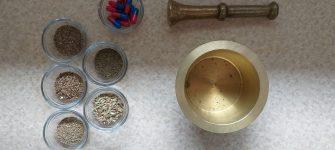 طرز تهیه کپسول گیاهی نفخ و گاز معده + فیلم آموزشی