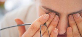 درمان خانگی چشم درد