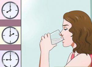 درمان حالت تهوع با مایعات