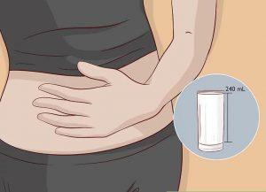 برای کاهش درد معده شیر بنوشید