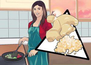 خواص زنجبیل در مواد غذایی