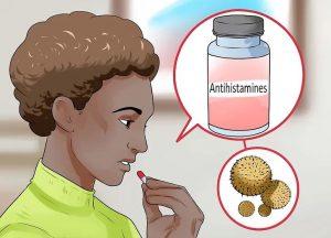 تسکین درد با آنتی هیستامین