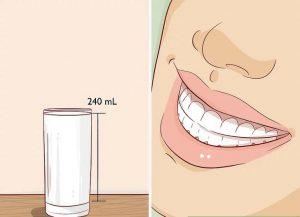 شیر مینای دندان را محکم می کند