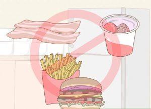 غذاهای سرخ کرده و چرب نخورید