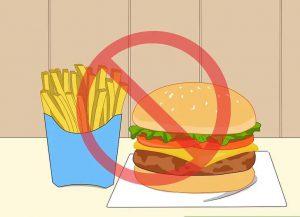 غذاهای فست فود نخورید
