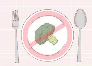 رژیم غذایی نادرست