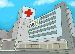 امکان بستری شدن در بیمارستان