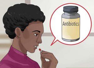 آنتی بیوتیک مصرف کنید