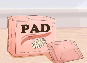 نحوه استفاده از پد در قاعدگی در بلوغ
