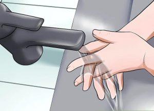 دستان خود را به خوبی بشویید