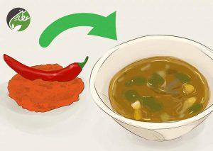 فلفل قرمز باعث افزایش حرارت می شود