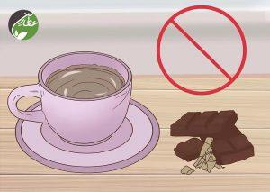 مصرف کافئین را محدود کنید