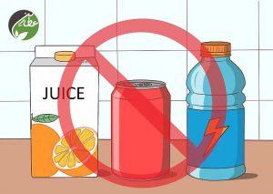 مصرف نوشیدنی های قندی را محدود کنید