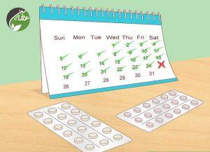 جلوگیری از پریودی با قرص های ضدبارداری