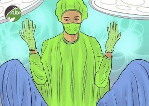 جراحی برای لخته شدن خون در قاعدگی