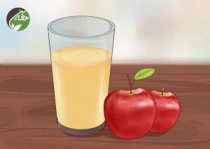 آب و سرکه سیب بنوشید