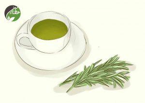 چای رزماری بنوشید