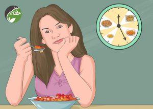 وعده های غذایی بیشتر و کوچک تر بخورید