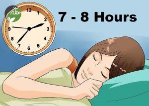 به میزان کافی بخوابید