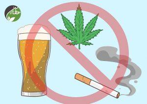 سیگار و الکل را کاهش دهید