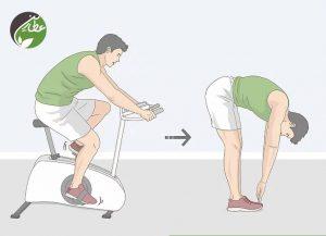 کاهش اسید لاکتیک با تمرینات کششی