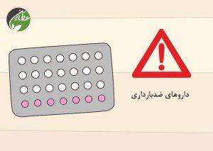 مصرف داروهای ضدبارداری