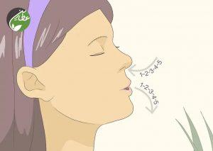 برای کاهش استرس پریود، نفس عمیق بکشید
