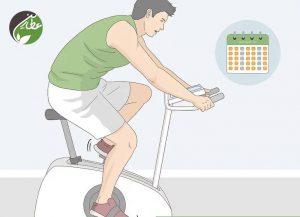 مرتب ورزش کنید