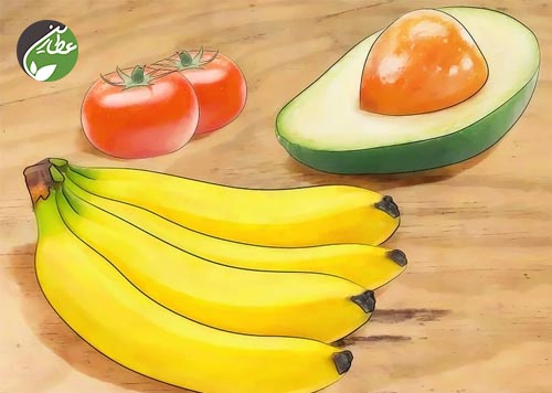 مواد غذایی حاوی پتاسیم