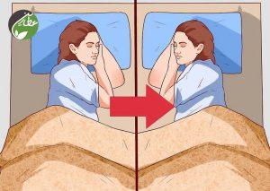تغییر در وضعیت خواب