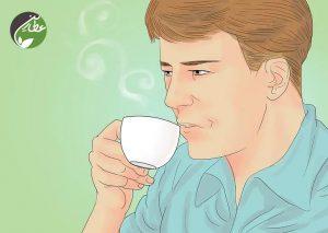 درمان خس خس سینه با مایعات گرم