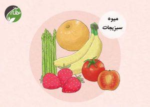 رفع مشکلات پروستات  با میوه و سبزیجات