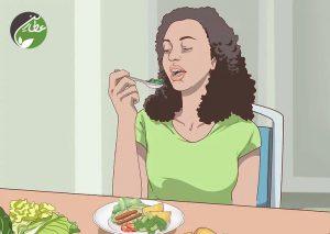 سبزیجات کافی بخورید