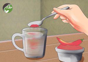 فلفل قرمز در غذاها مصرف کنید