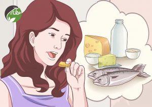 ویتامین دی مناسب در رژیم غذایی