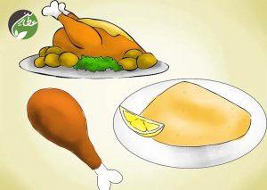 مرغ بیشتر بخورید