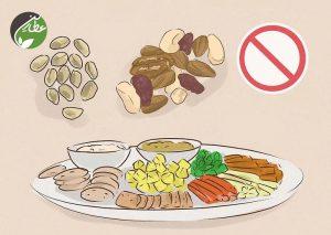 بعد از کشیدن دندان از خوردن غذاهای سفت خودداری کنید