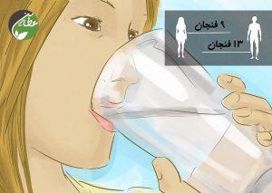 به میزان کافی آب بنوشید
