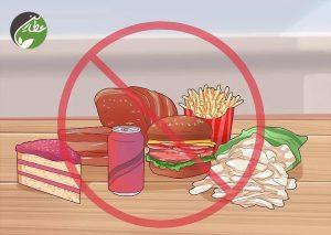 کاهش مصرف غذاهای فراوری شده