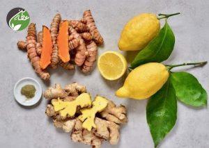 با زردچوبه و زنجبیل بدن را ضدعفونی کنید