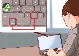استفاده از میانبرهای صفحه کلید