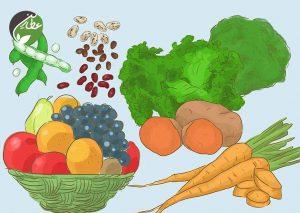 بیشتر میوه و سبزیجات بخورید