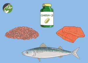 برای درمان بلفاریت بیشتر امگا 3 بخورید
