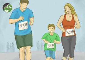 تشویق فعالیت بدنی در خانواده