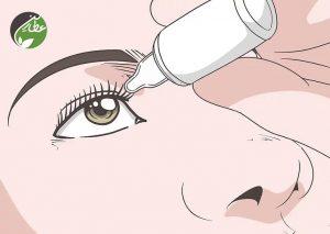 درمان بلفاریت با قطره های چشمی