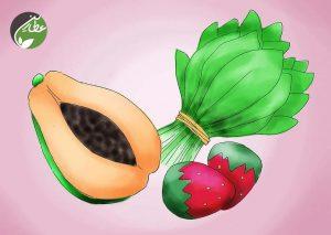 سبزیجات حاوی ویتامین C مصرف کنید