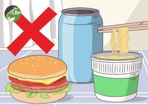 از مصرف غذاهای مضر خودداری کنید