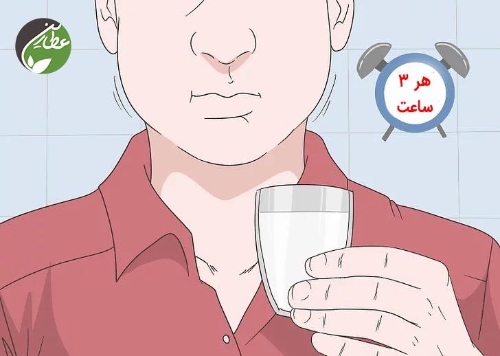 چطور خشکی دهان را به طور طبیعی برطرف کنیم؟