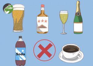 نوشیدنی مضر مصرف نکنید
